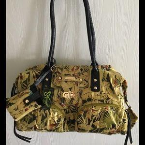 Sharif Studio handbag w/ 3 extra pieces NEW w-TAGS